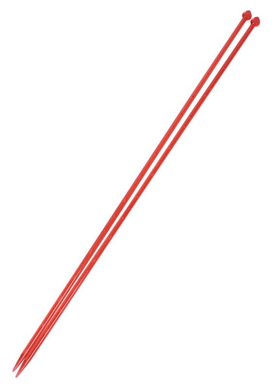 SULTAN - Sultan Havalı Şiş 35 cm Kırmızı 6 mm