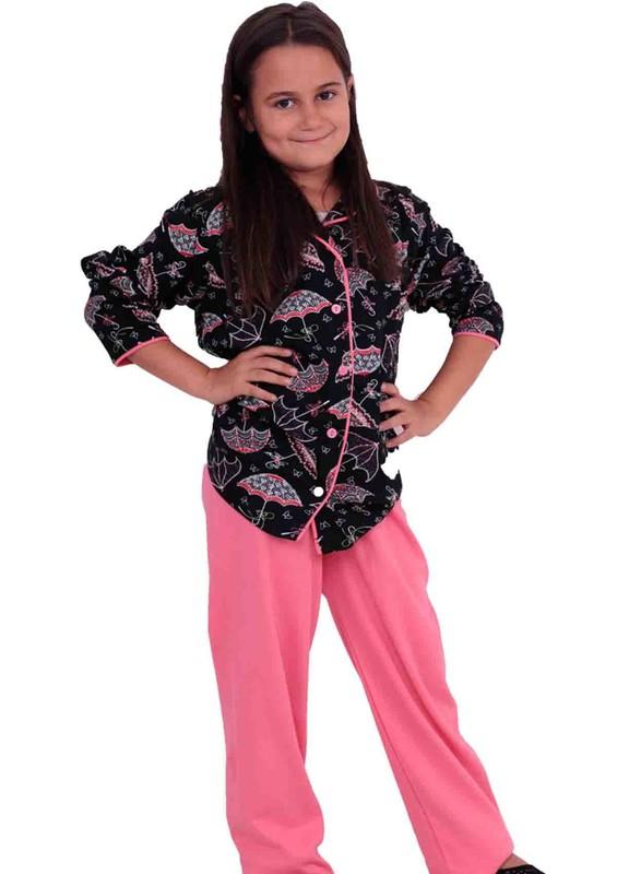 TARIK - Tarık Çocuk Pijama Takımı 1262 | Siyah