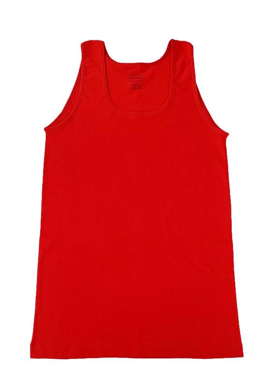 TUTKU - Tutku Ribana Geniş Askılı Kadın Atlet 136 | Kırmızı