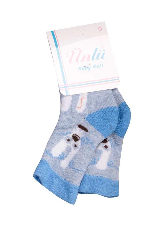 ÜNLÜ BABY - Ünlü Baby Çorap 002 | Mavi