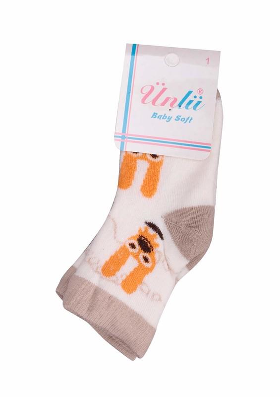 ÜNLÜ BABY - Ünlü Baby Çorap 002 | Sarı