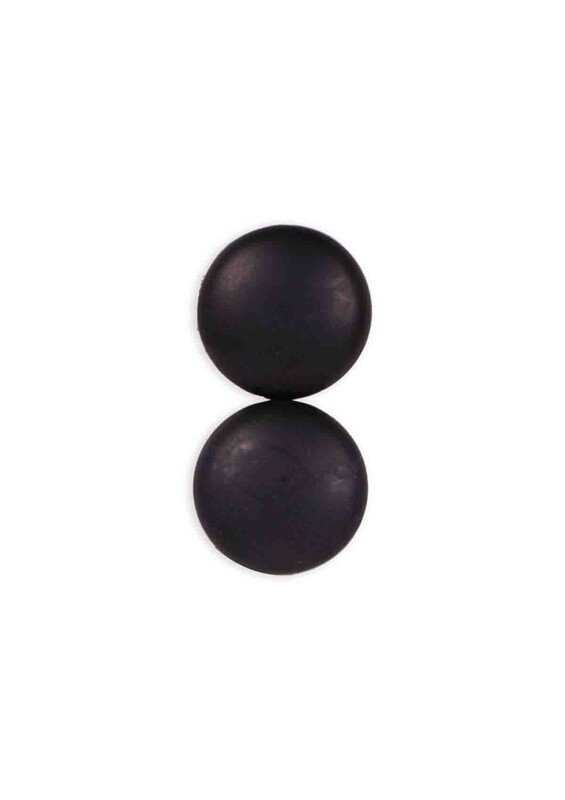 YABALI - Yabalı Renkli Eşarp ve Şal Mıknatısı Mat Siyah | Siyah