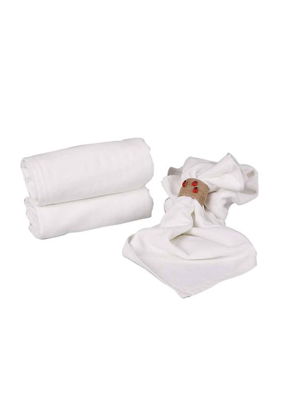 FİESTA - Fiesta El ve Yüz Havlusu 214   Beyaz