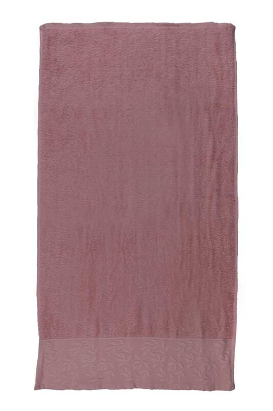HAZANGÜLÜ - Hazangülü Tuana El ve Yüz Havlusu 50x90 cm | Pudra